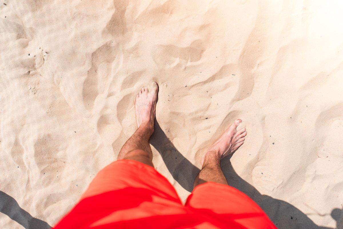 standing-in-sand-picjumbo-com
