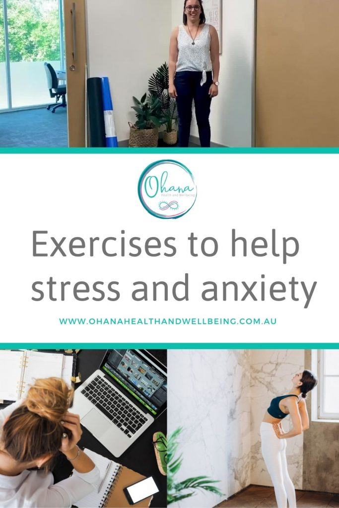 In this blog I am going to discuss how Sympathetic Dominance can affect your upper body posture and exercises to help stress and anxiety.