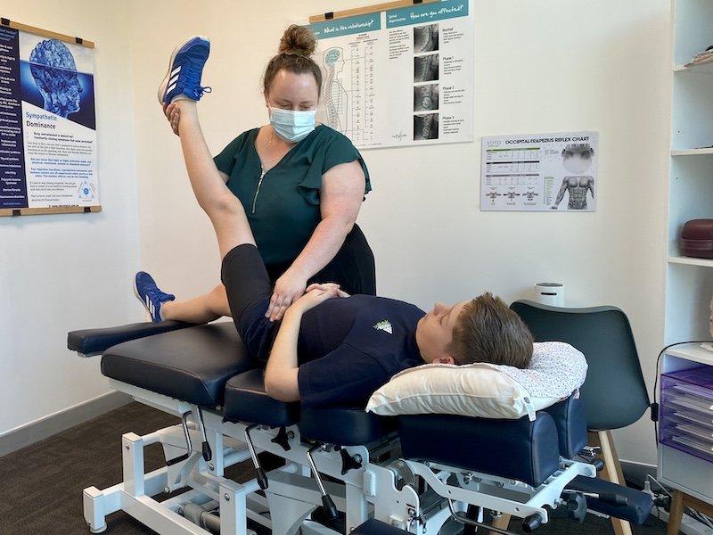 Dr Tiarna Evans chiropractor north lakes